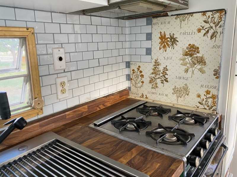 How to Install Peel and Stick Backsplash in an RV?
