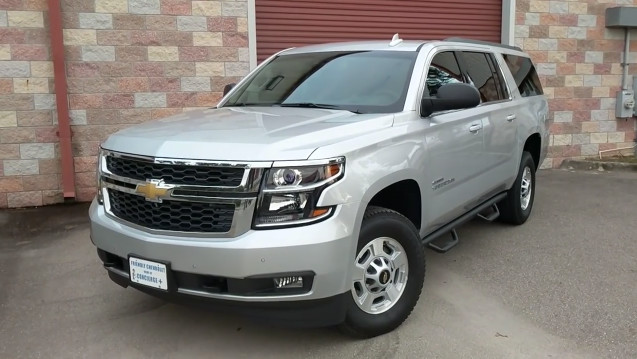 How Much Does a Chevrolet Suburban 2500 Weigh?
