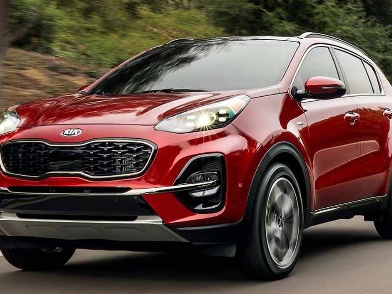 How Much Does a Kia Sportage Weigh?