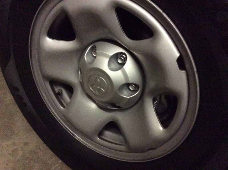 How to Install Toyota Tacoma Center Caps?