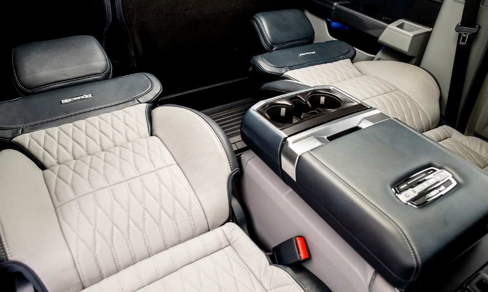 Why does the New F150 Seats go all the way back?